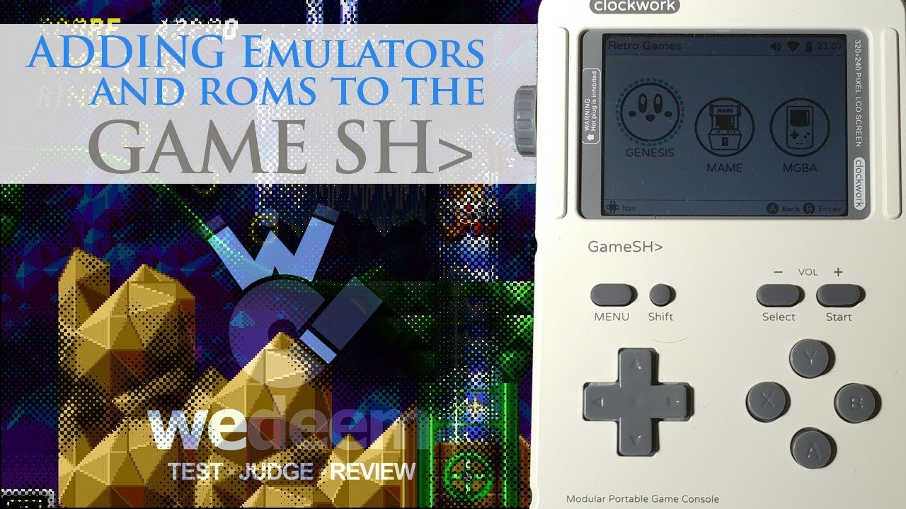 PLAYSTATION EMULATOR ON THE GAMESHELL - Reviews By This Guy