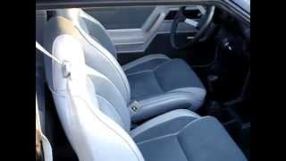 1987 Shelby Charger GLHS #477 - FOR SALE BY OWNER - Interior passenger-side - October, 2012