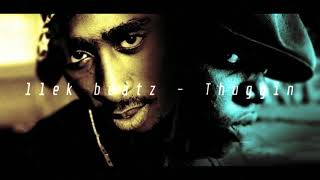 Biggie x 2pac type beat | Thuggin | Gangsta Rap / Dark Trap Beat | Instrumental | llek beatz