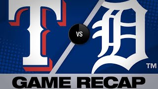 Guzman, Chavez lead Rangers over Tigers | Rangers-Tigers Game Highlights 6/25/19