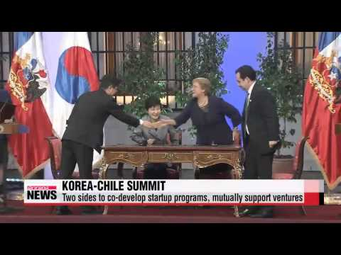 Korea, Chile to upgrade cooperation from trade, investment   한-칠레 정상회담