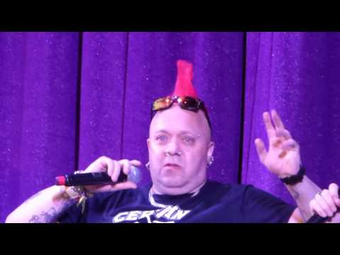 Wattie (The Exploited) interview snippet @ Rebellion 2016