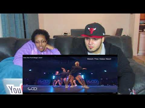 ROYAL FAMILY   FRONTROW   WORLD OF DANCE LOS ANGELES 2015 REACTION!!!