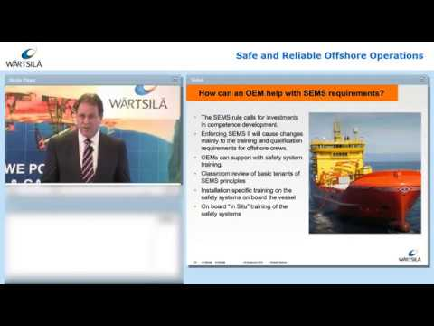 Safe and Reliable Offshore Operations (Webinar) | Wärtsilä