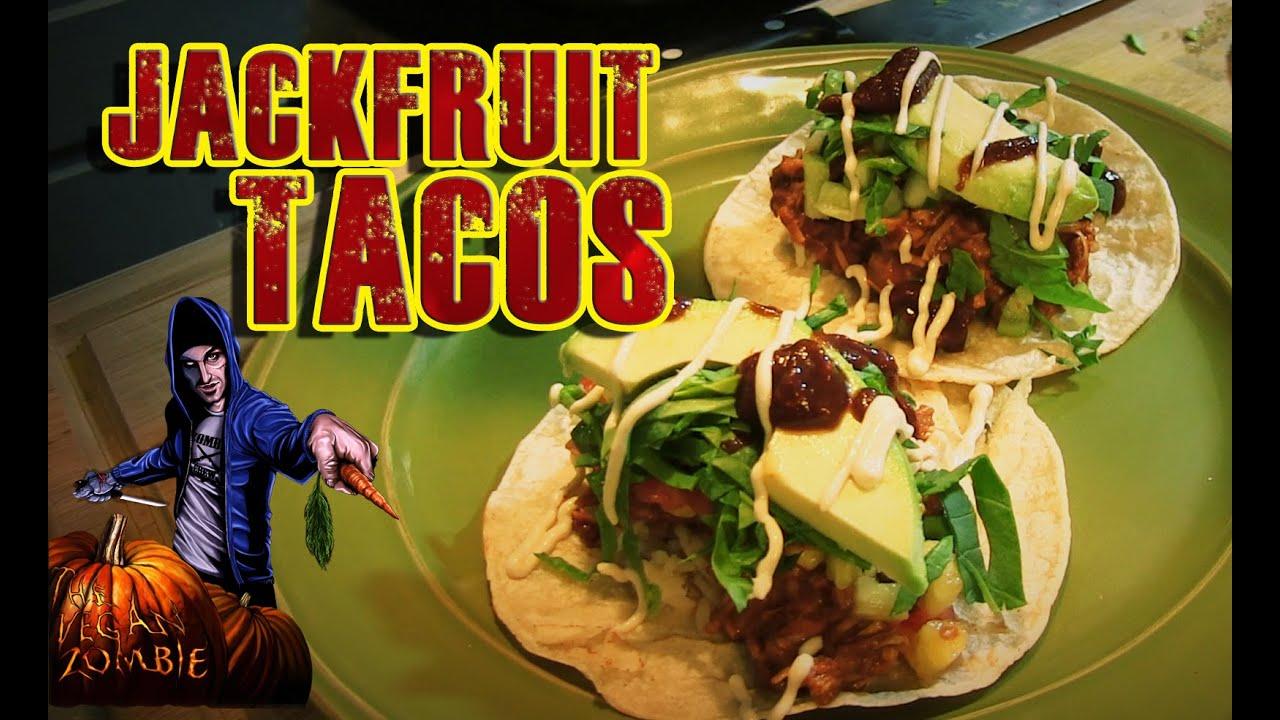 How to Cook Jackfruit - Vegan Taco Recipe | Pineapple BBQ ...