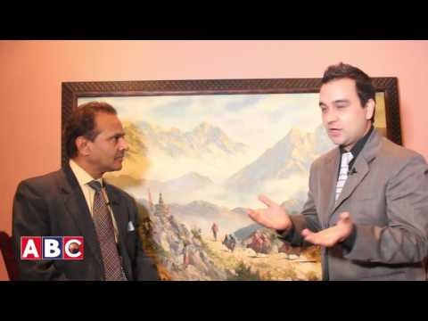 Dr. Tulsi Dharel on Talk of the Town USA with Kishor Panthi