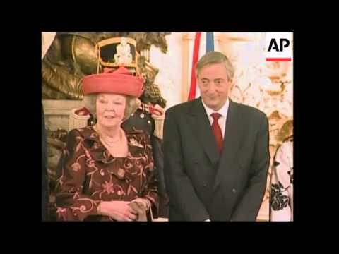 Queen Beatrix visits Argentina