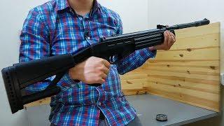 Пневматическая винтовка Hatsan AirTact (видео обзор)