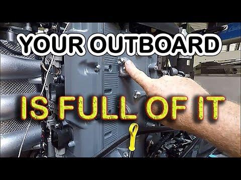 RYDLYME DESCALING, FLUSH Outboard, Anode Change