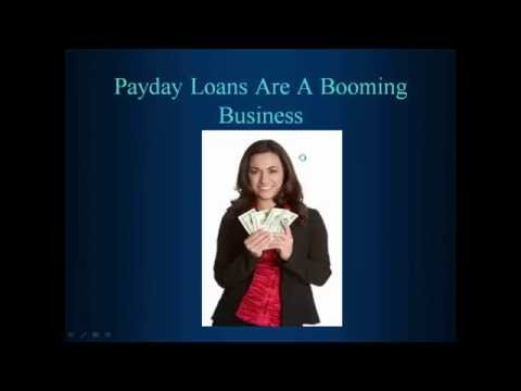 Payday Loans Are A Booming Business