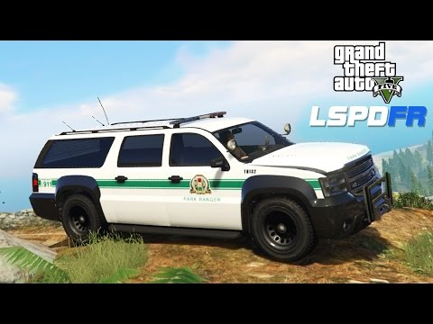 ★ GTA 5 - LSPDFR #2 - Mountain Wilderness Park Ranger Patrol! (GTA V PC MODS)