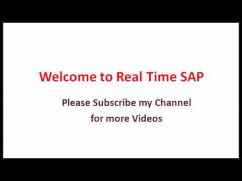 SAP Asset accounting Process Flow Material || Asset accounting