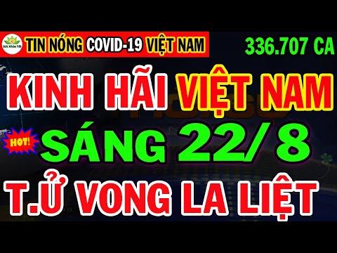 🛑Tin Khẩn SÁNG 22/8: VN TĂNG KỶ LỤC 11.321ca mới & 7.540ca Tử Vong, HCM NGUY KỊCH CẦU CỨU 63 Tỉnh