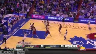 Wiggins attacking in halfcourt and transition