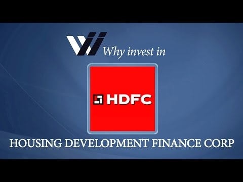 Housing Development Finance Corp - Why Invest in