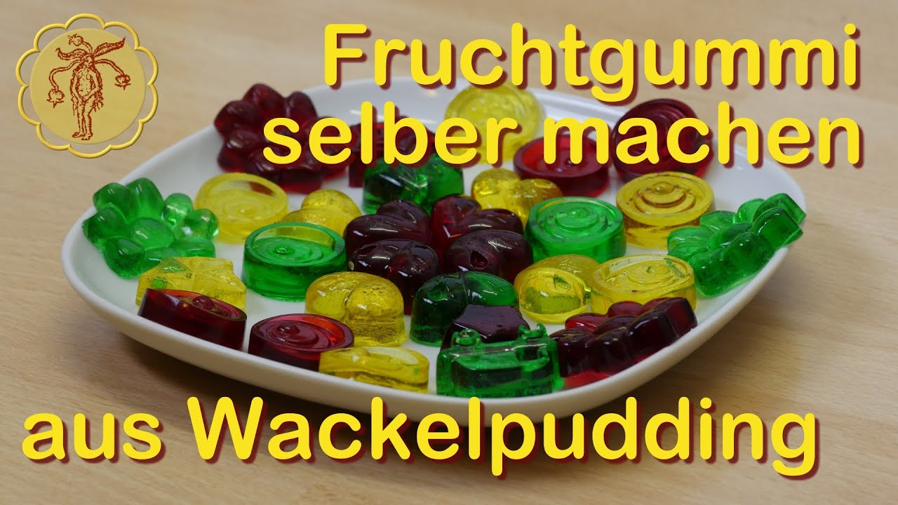fruchtgummi selber machen aus wackelpudding youtube. Black Bedroom Furniture Sets. Home Design Ideas