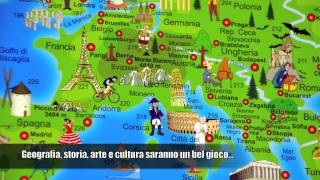 Cartina Del Mondo Ingrandita.Cartina Del Mondo Illustrata Per Bambini E Adulti Youtube