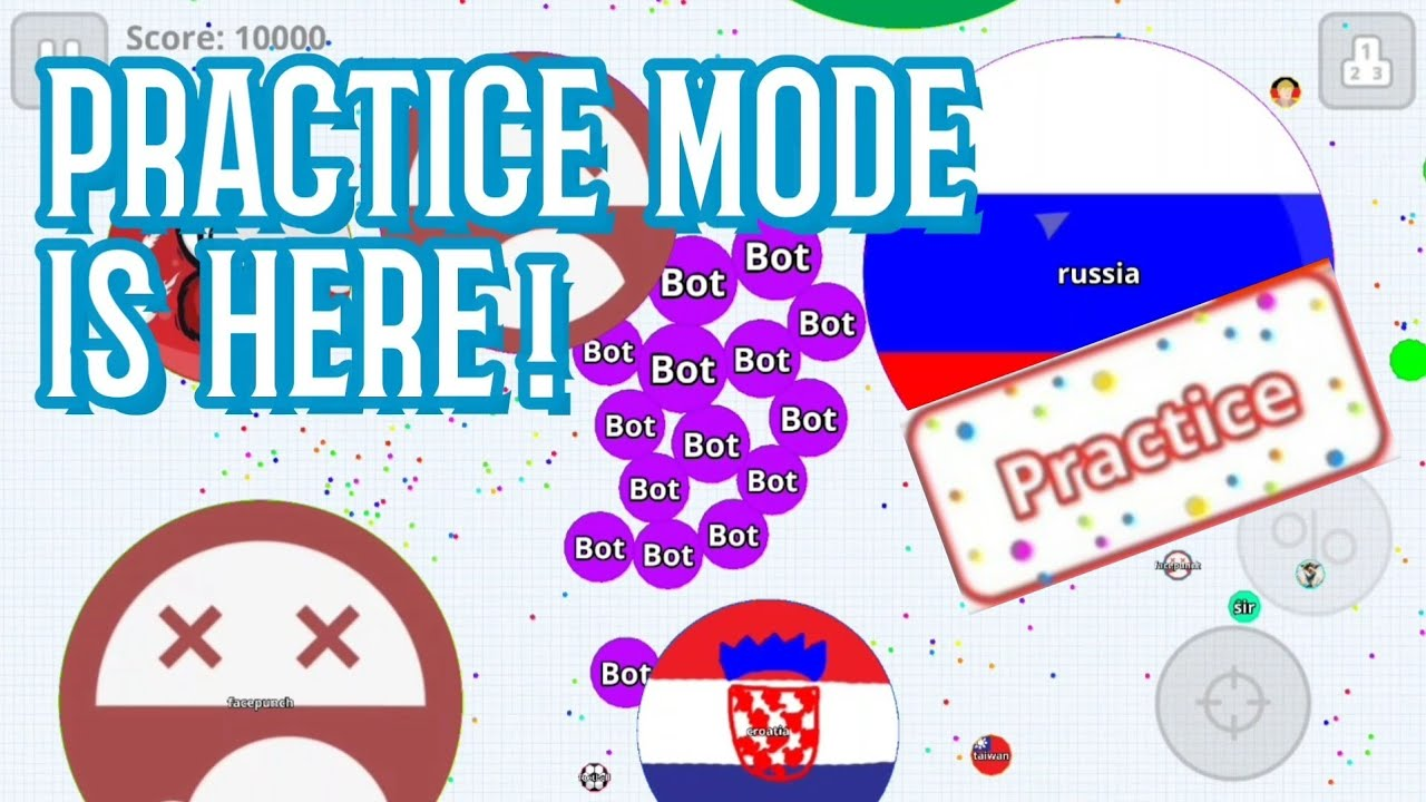 Agario 2 7 0 Beta 'PRACTICE MODE' Is Here! | How To Get It | Agar 2019  اقاريو | Info About 2 7 0