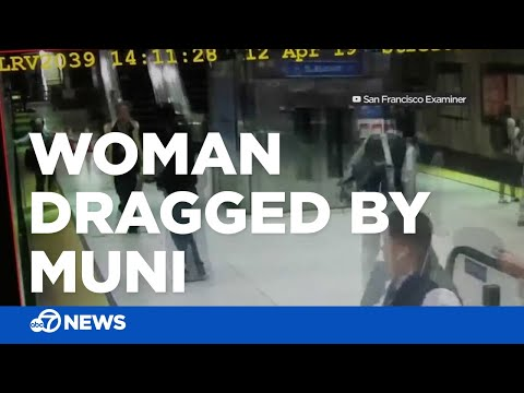 MORNING NEWS - WATCH! Woman Dragged By Train After Hand Gets Stuck In Door