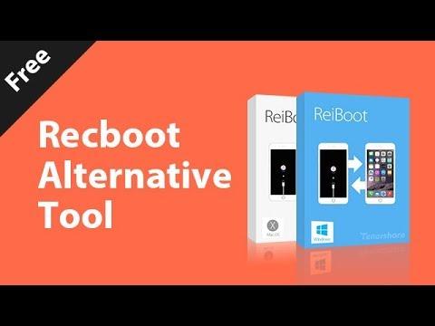 Recboot Alternative Free Tool to Fix iOS Stuck of Your iPhone/iPad/iPod