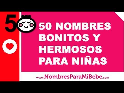 50 nombres bonitos y hermosos para niñas - www.nombresparamibebe.com
