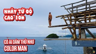 Boracy Trip| Boat Tour #5: Amazing! Old man dives from 10m height