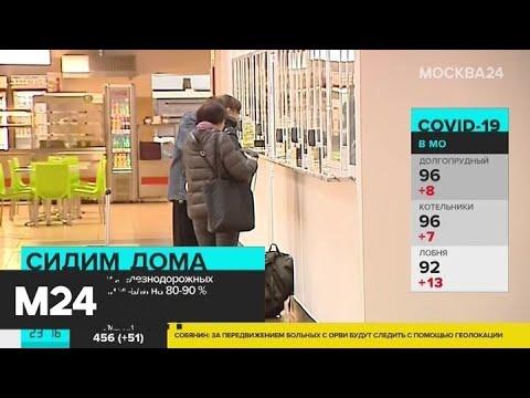 Продажи авиа- и ж/д билетов в России упали на 90 процентов - Москва 24