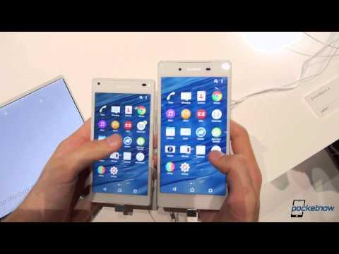 Sony Xperia Z5 vs. Z5 Compact (Showfloor Comparison)