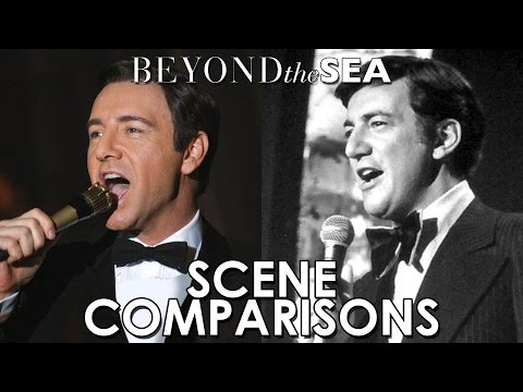 Bob Darin and Kevin Spacey  Beyond the Sea 2004  scene comparisons