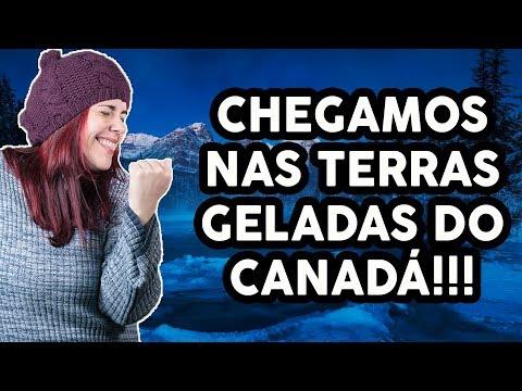 CHEGAMOS NAS TERRAS GELADAS DO CANADA | CALGARY | VIAGEM PELO CANADÁ #12 | KITTY NO CANADÁ