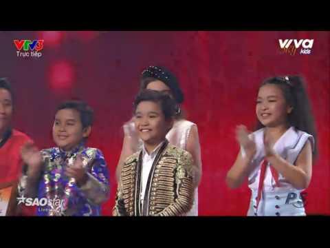 Kết Quả Đêm Chung kết Giọng hát Việt nhí 2016 Và Giây Phút Đăng Quang