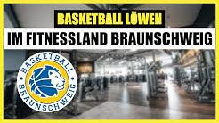 Training der Basketball Löwen Braunschweig im FITNESSLAND Braunschweig