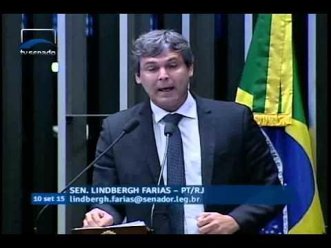 Lindbergh Farias questionou a legitimidade da agência de classificação Standard & Poor's