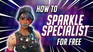 How to: GET SPARKLE SPECIALIST IN FORTNITE FOR FREE (TUTORIAL)
