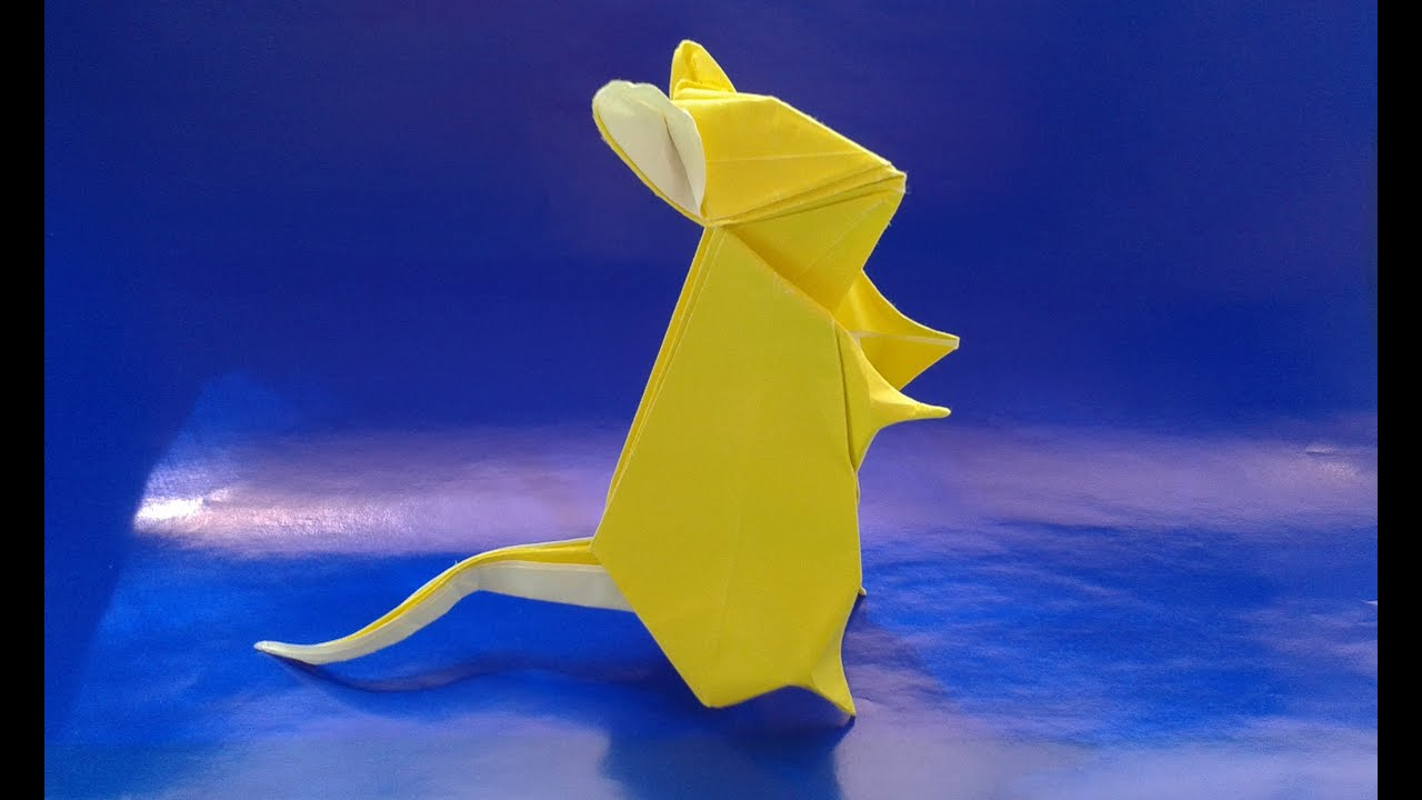 Origami Mouse Youtube