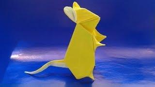 Origami Mouse оригами мышка