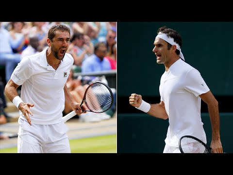 Wimbledon 2017: Cilic and Federer through to men's final
