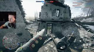 Battlefield 1 - Bomber gunning and infantry streaks