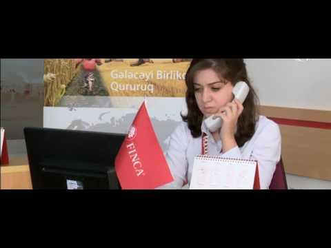 """ATV Xəbər  - """"FINCA Azerbaijan"""" Bir Zənglə Kredit təklif edir"""