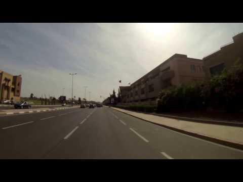 Driving into Sale, Morocco