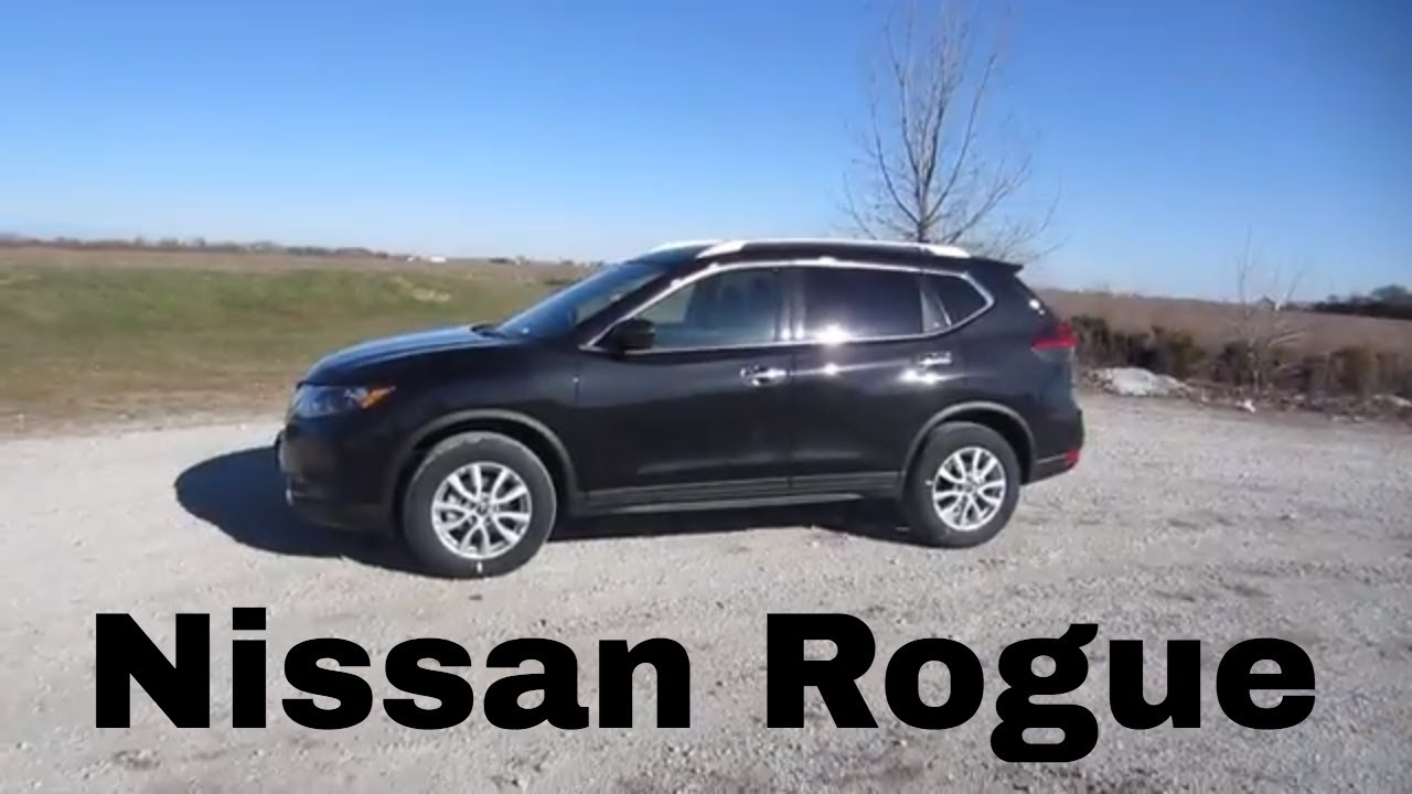 2018 Nissan Rogue Sv Full Al Car Review And Test Drive