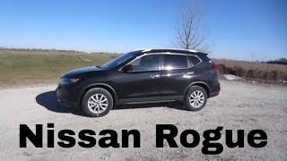 2018 Nissan Rogue SV | Full Rental Car Review and Test Drive