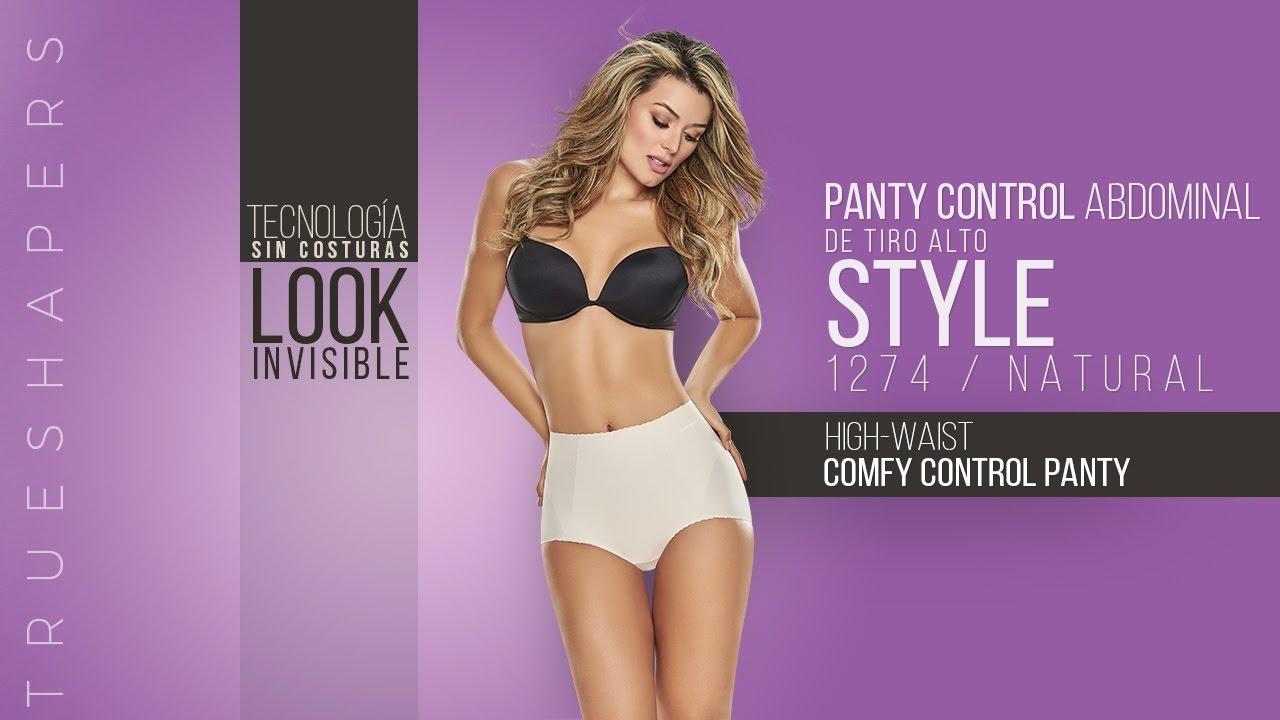 cf59c83131bae Panty Control Abdominal de Tiro Alto. High-Waist Comfy Control Panty ...