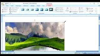 Microsoft Word Tricks - How to add cool filters/effects to your images
