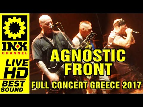 AGNOSTIC FRONT - Full Concert in Greece [27/6/17 Thessaloniki]