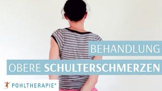 Schulterschmerzen: Selbstbehandlung für Schmerzen oben an der Schulter