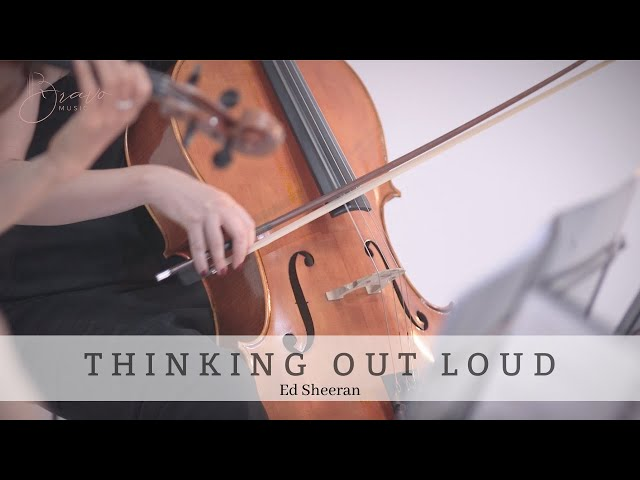 Thinking Out Loud | Ed Sheeran | Bravo Music Events String Quartet