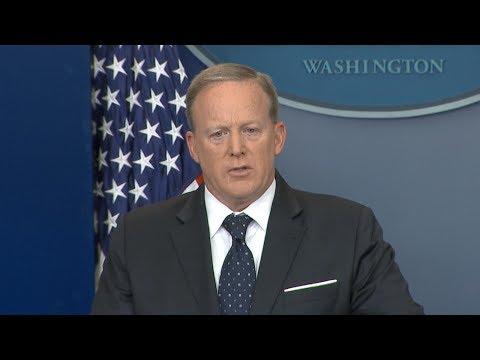 Sean Spicer resigns as White House Press Secretary