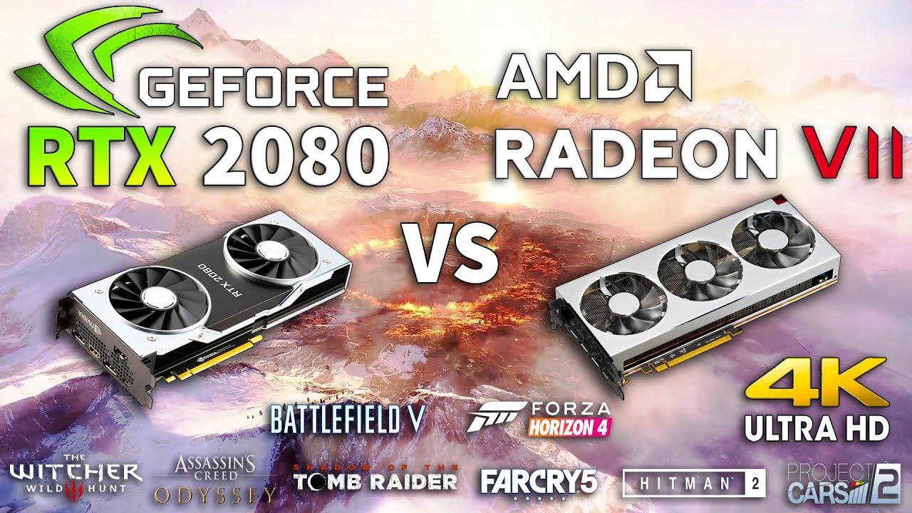 Radeon Vii Vs Rtx 2080 Test In 8 Games Youtube
