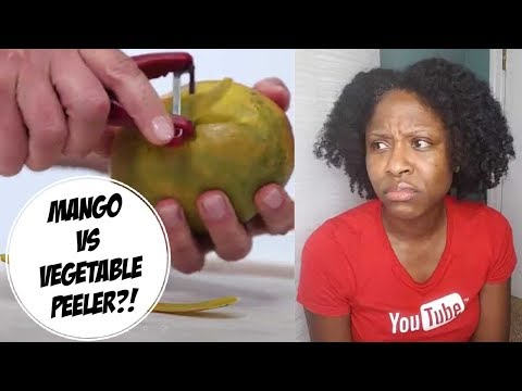 How NOT to Cut A Mango aka That's Not How Any Of This Works!! • @Glamazini
